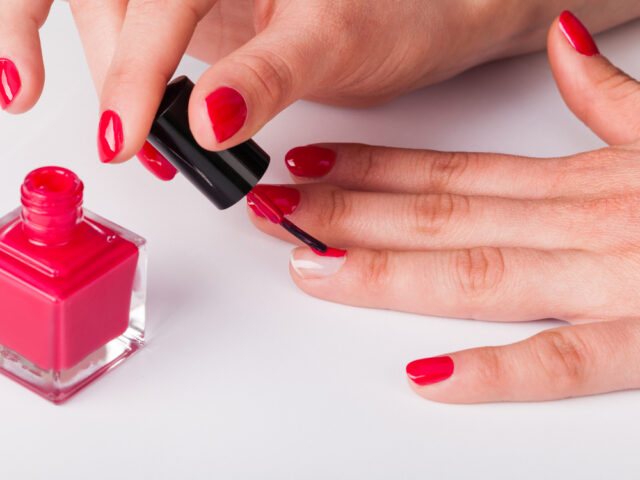Seal the nail edge with polish to make your manicure last longer