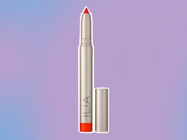 Burt's Bees and more, Ilia lip crayon in push it
