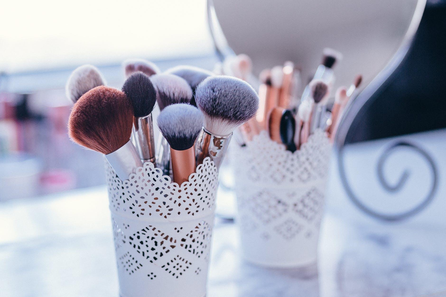 assorted beauty blur business