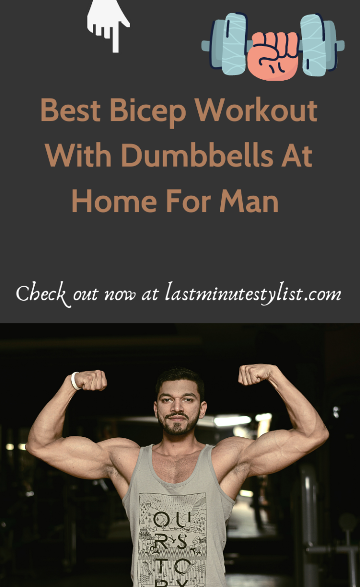 12+ Best Bicep Workout With Dumbbells At Home For Men In 2021 Let's face it, if you're looking for a triumphant post-isolation return to the gym, chances are you are going to start with the biceps. The beefy, front-arm section is a concentrated muscle group that suggests strength, and demands respect. Large biceps muscles are the calling card of the gym-rat and can work wonders for your general appearance.